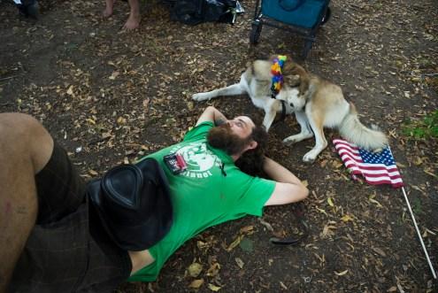 Bernie Protest Camp