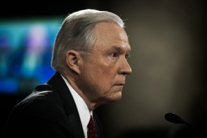 Jeff-Sessions at Congressional Confirmation Hearing for Attorney General