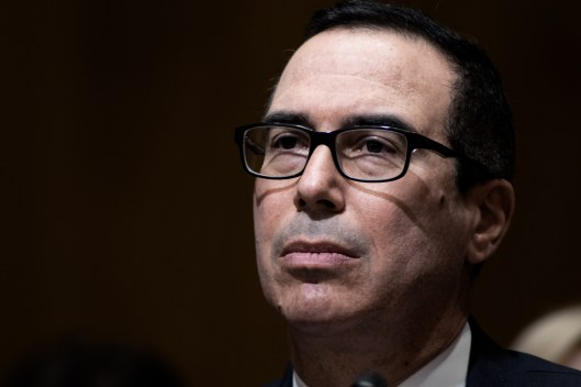 Steve Mnuchin Treasury Secretary Confirmation Hearing