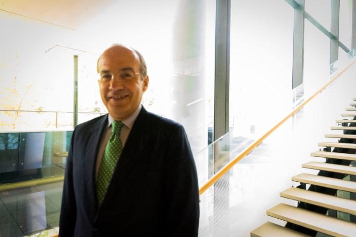 Felipe Calderon, former President of Mexico