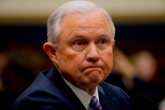 Attorney General Jeff Sessions testifies during House hearing16
