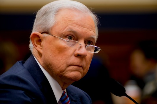 Attorney General Jeff Sessions testifies during House hearing19