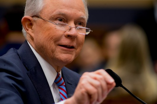 Attorney General Jeff Sessions testifies during House hearing23