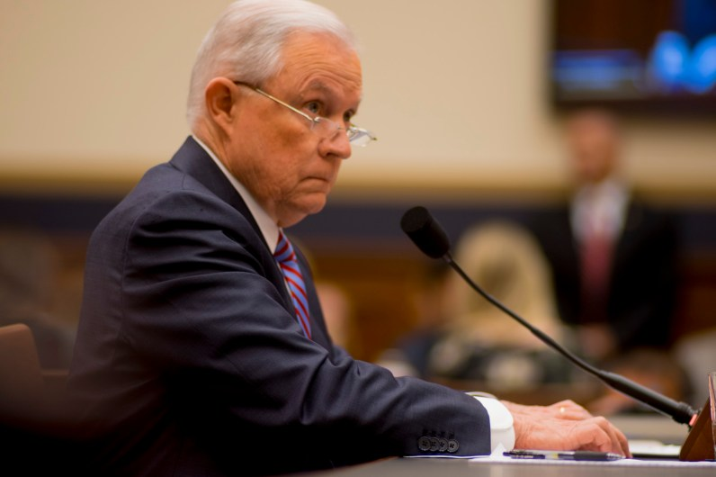 Attorney General Jeff Sessions testifies during House hearing28
