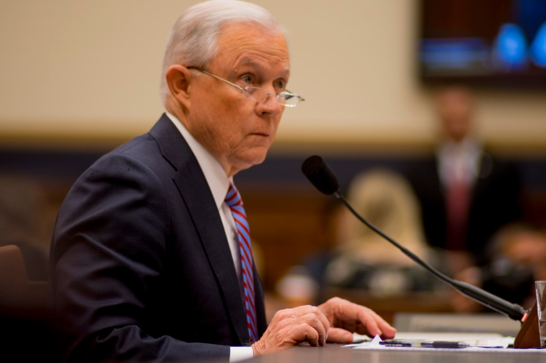 Attorney General Jeff Sessions testifies during House hearing29