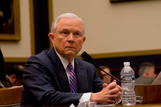 Attorney General Jeff Sessions testifies during House hearing50