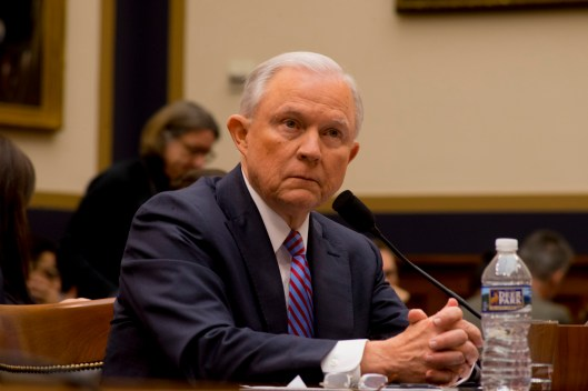 Attorney General Jeff Sessions testifies during House hearing51