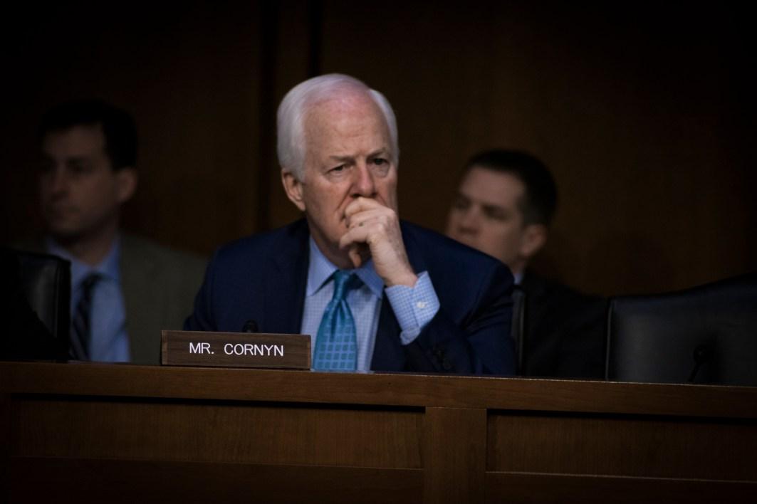 Sen John Cornyn at the Worldwide Threats Assessment Senate briefing Feb 13, 2018