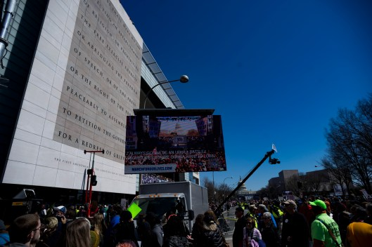 March for Our Lives, on Pennsylvania Ave. NW, Washington, D.C., March 24, 2018