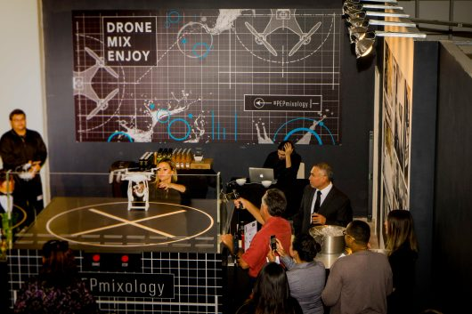Drone Mixology event