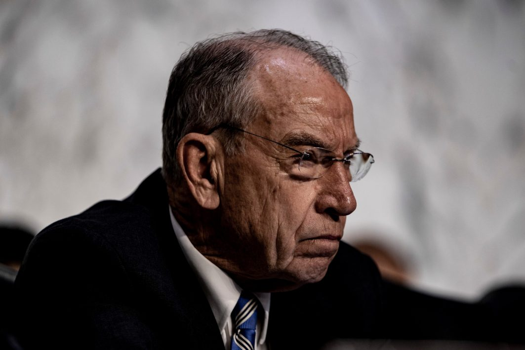 Chairman of the Senate Judiciary Committee CHUCK GRASSLEY (R-IA) during Judge BRETT KAVANAUGH's confirmation hearing