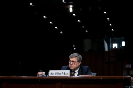 Confirmation hearing of William Barr to be Attorney General