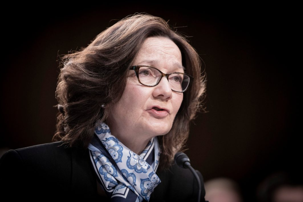CIA Director GINA HASPEL testifies before the Senate Intelligence hearing on Worldwide Threats in 2019