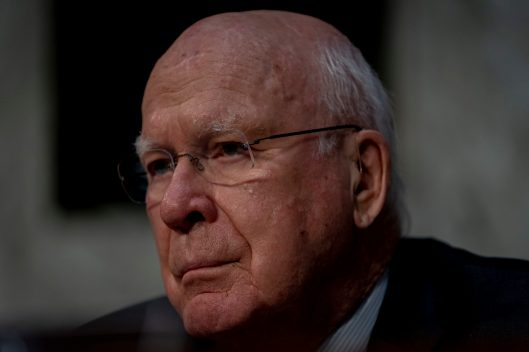 Senator Patrick Leahy (D-VT) at WILLIAM BARR's confirmation hearing to become Attorney General of the United States, January 15, 2019