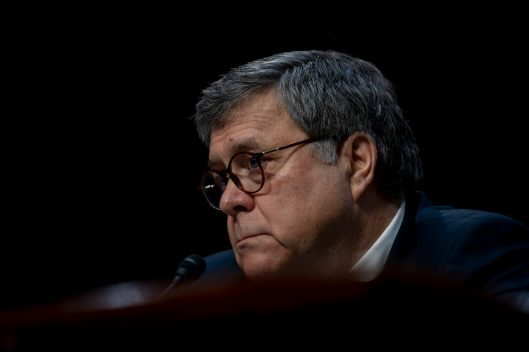 WILLIAM BARR at his Senate Judiciary Committee confirmation hearing to become Attorney General of the United States, January 15, 2019