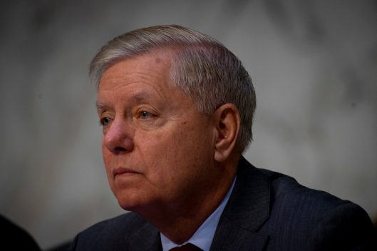 Senate Judiciary Committee Chairman LINDSEY GRAHAM (R-SC) leads WILLIAM BARR's confirmation hearing to become Attorney General of the United States, January 15, 2019