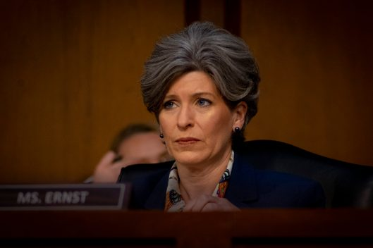Senator JONI ERNST (R-IA) at WILLIAM BARR's confirmation hearing to become Attorney General of the United States, January 15, 2019