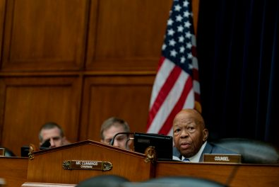 Chairman of the House Oversight Committee, ELIJAH CUMMINGS (D-MD), at the hearing of President DONALD TRUMP's former personal attorney, MICHAEL COHEN, February 27, 2019