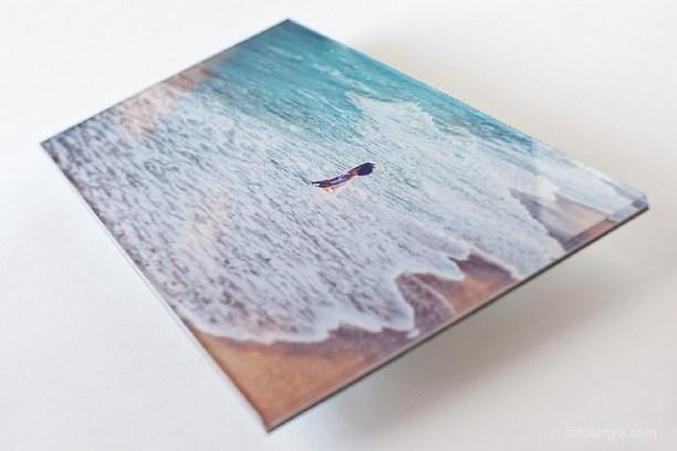 Оформление фотографий под стеклом