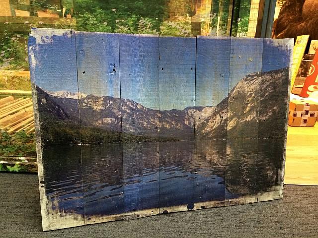 Печать фотографий на древесине для интерьеров