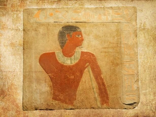 Древнеегипетские фрески, IV век до нашей эры