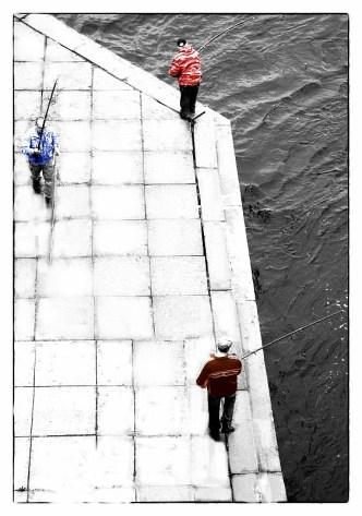Арт-фотография для оформления интерьеров. Рыбаки 2019