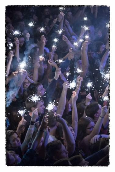 Концерт панк-группы КняZz. Авторское фото для оформления интерьеров