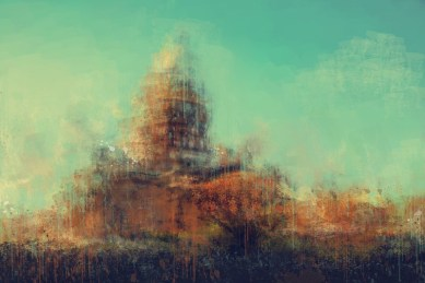 Исаакиевский Собор. Санкт-Петербург импрессионистический