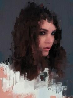 Фотопортрет. Цифровая живопись. Интерпретации импрессионизма для интерьерного дизайна