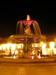Cuzco Fountain at night. I was proud to have completed this handheld. Today, I think I would require a tripod to accomplish this shot!