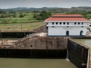 Miraflores locks - There is a museum at this location which I highly recommend visiting if you find yourself in Panama City.