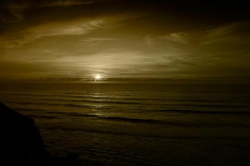 Sunset @ Azenhas do mar (Sintra 2008)