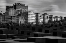 View Above Holocaust Memorial (Berlin, 2014)