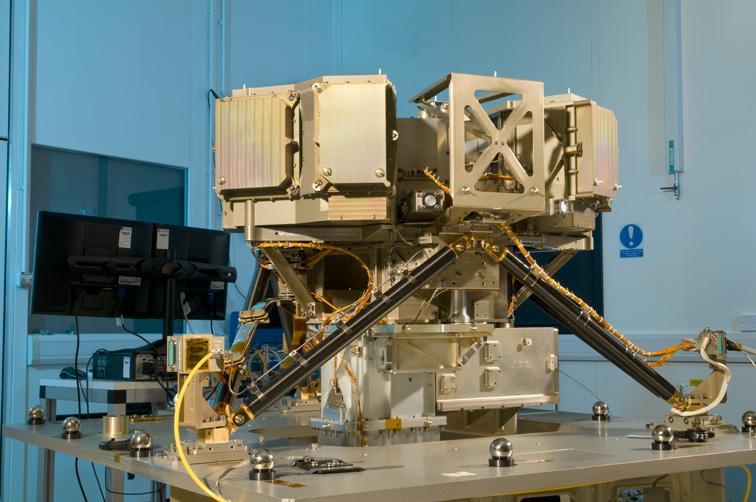 Webb Instrument Undergoes Alignment Testing