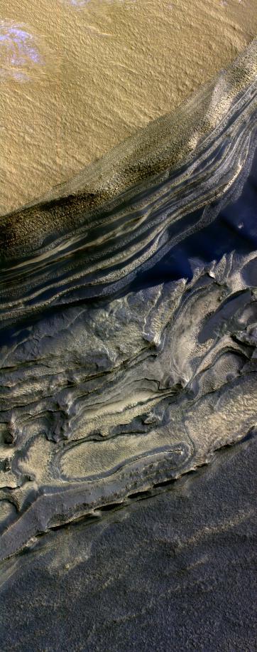 Layers Exposed at Polar Canyon