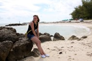 Chilling on the beach in Key West