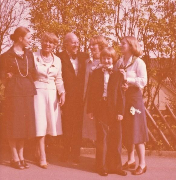 Some long forgotten formal family affair