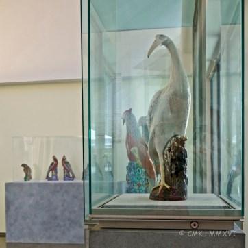 Collection of ceramic birds