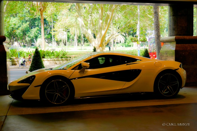 A McLaren .... just like that