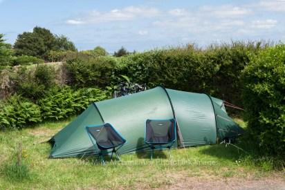 Hillion campsite