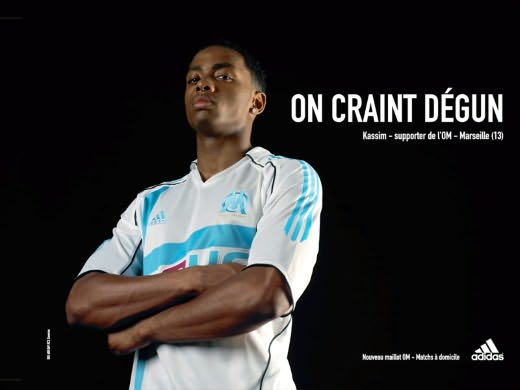 « On craint degun » – OM & Adidas