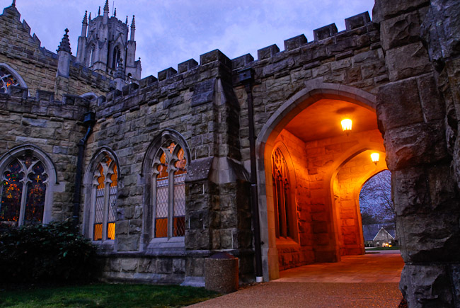 All Saints Chapel at dawn