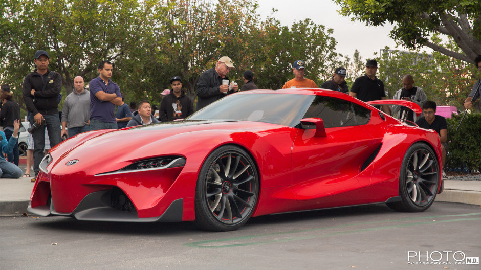Toyota FT-1 Concept | Cars and Coffee Irvine