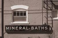 Mineral Baths available at Lava Hot Springs, Idaho.