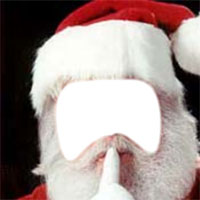 Add Your Face Funny Pictures Santa Claus Face Hole