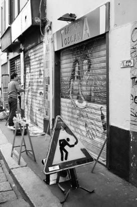 Alberto Grifantini, Lavori in Corso di Porta Ticinese
