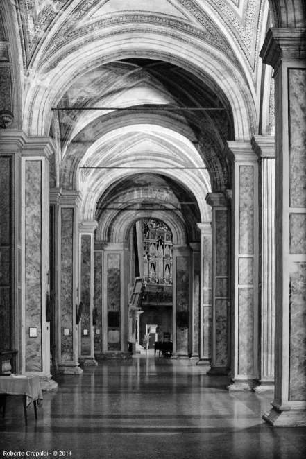 chiesa s maria della passione colonnato