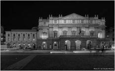 Claudio Manenti, Notturno in Piazza della Scala