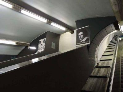 Elena Bonagamba 021, Porta Venezia underground