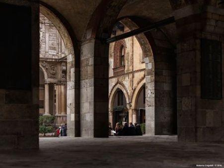 Roberto Crepaldi, Portici del Palazzo della Ragione